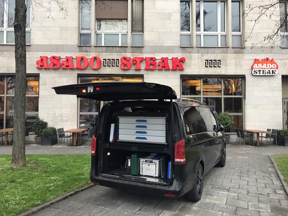 LA-GKS bei Asado Steakhouse